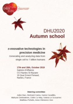 "DHU2020 ""e-nnovative technologies in precision medicine : generating and analyzing data from si…"